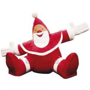 Père Noël Assis