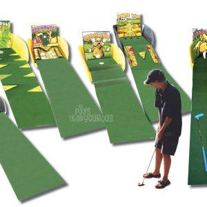 Crazy Mini Golf Parcours 5 trous
