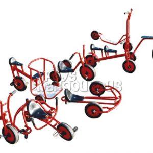 Cyclos Rigolos avec circuit