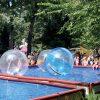 Location de bulles sur l'eau
