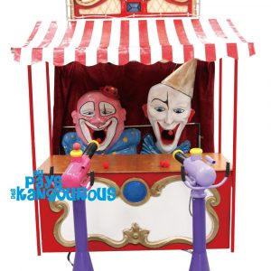 Stand Forain Clowns Canons