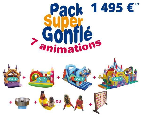 Pack Super Gonflé