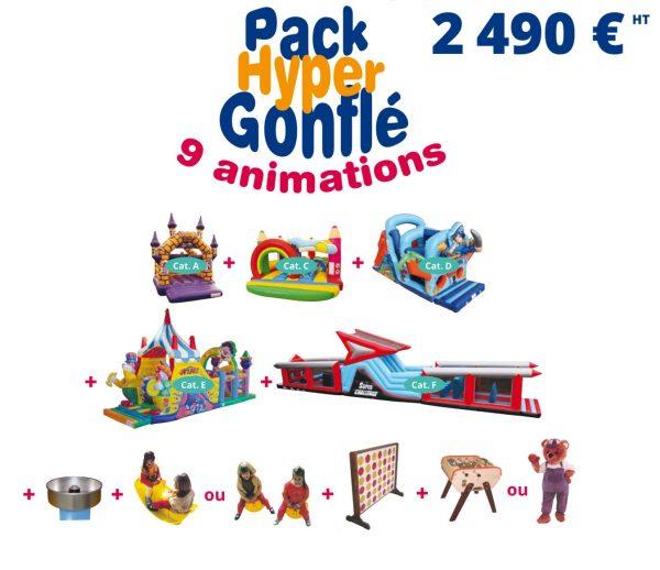 Pack Hyper Gonflé